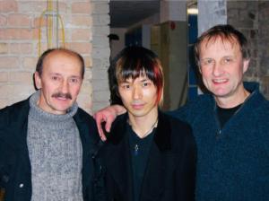 ジャグラーまろと先生、Valentin TovarciとSergei Ignatov